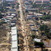 15 Jahre Tsunami – Riesenwelle tötete über 230.000 Menschen