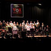 Weihnachtssingen in der Cashpoint Arena mit Voices of Xiberg
