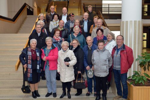 Mitglieder des PVÖ Rheindelta verfolgten die Landtagssitzung am 20. November mit. pvö rheindelta