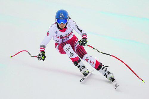 Nach einem Jahr Pause kehrt Christine Scheyer in den Weltcup zurück. gepa