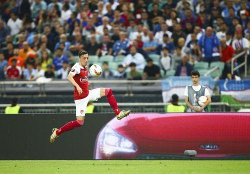 Nach Kommentaren zur Situation der Uiguren in China auf Twitter: Mesut Özil hat eine Krise zwischen seinem FC Arsenal und China ausgelöst.GEPA