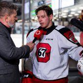Marco Rossis Aktien für den NHL-Draftsteigen