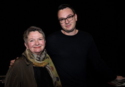 Nichte Christine Jehle und Großneffe Andreas Rohrer.