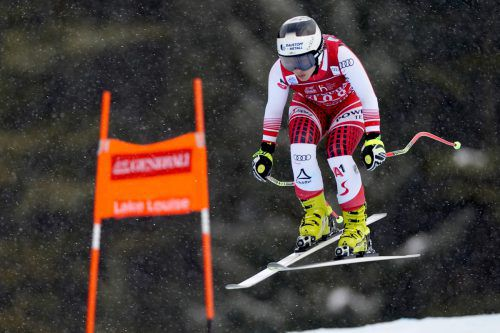 Nicole Schmidhofer war in Lake Louise am ersten Trainingstag auf Rang vier die schnellste ÖSV-Läuferin.gepa