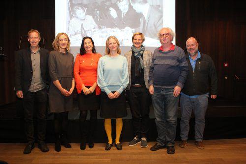 Norbert Schnetzer, Ingrid Böhler, Brigitte Truschnegg, Simone Bechtold Schiestl, Ruth Swoboda, Georg Friebe, Andreas Rudigier.
