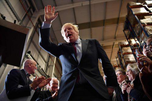 Ob die regierenden Konservativen von Johnson tatsächlich triumphieren, zeichnet sich erst spät ab: Die Wahllokale sind von 8 bis 23 Uhr MESZ geöffnet. AFP