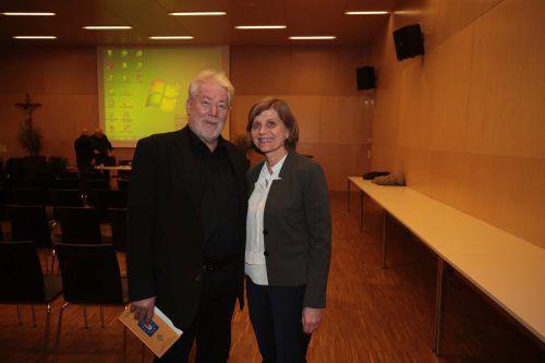 Ortsvorsteher Josef Mähr und LSth. Barbara Schöbi-Fink waren auch vor Ort.