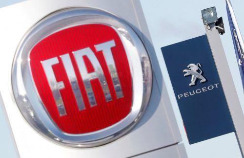 Peugeot und Fiat sind zwei der Marken (weitere: Peugeot, DS, Citroën, Alfa Romeo, Chrysler, Dodge, Jeep, Lancia und Maserati) unter gemeinsamem Dach. Reuters