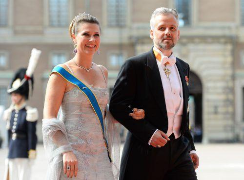 Prinzessin Märtha Louise und Ari Behn trennten sich 2016. AFP