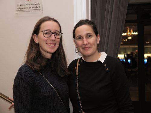 Professorinnen Maria Schranz und Luise Szymanski (HTL Bregenz).