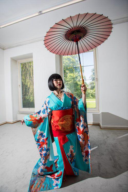 Rahmenveranstaltungen zu den Ausstellungen wie jene mit der Tänzerin Maico Tsubaki wird es im Jahr 2020 noch öfter geben. Vn/Steurer
