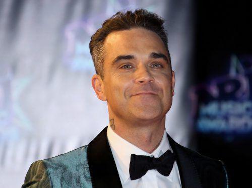 Robbie Williams gibt in seiner Heimatstadt ein Benefizkonzert. Reuters