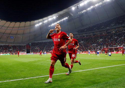 """Roberto Firmino will mit seinen """"Reds"""" aus Liverpool auch im Finale der Klub-WM in Doha gegen Flamengo Rio jubeln und den nächsten Titel einfahren.Reuters"""
