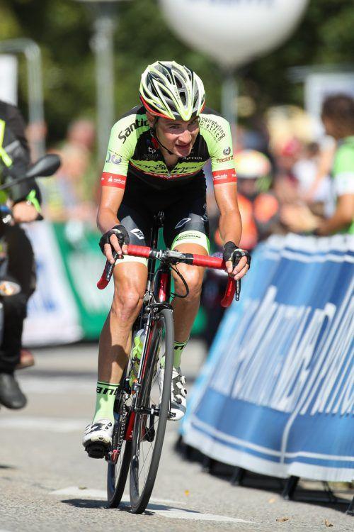 Roland Thalmann ist als 537. bestklassierter Fahrer im UCI-Ranking.GEPA