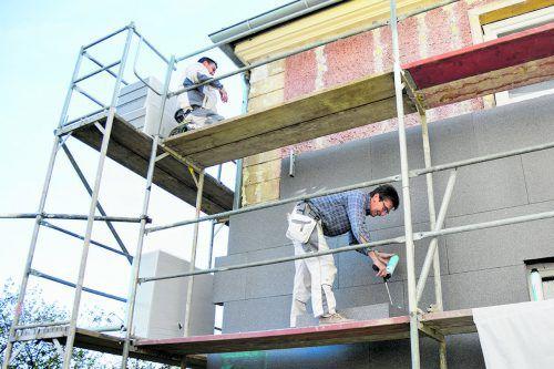 Sanierung Lediglich bei bereits festgelegten Haussanierungen sind die Kosten schon bekannt.