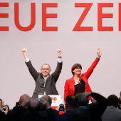 Neue SPD-Spitze will klaren Linkskurs