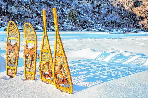 Schneeschuhe werden schon seit Tausenden von Jahren benutzt.Shutterstock