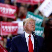 Für Trump wird es ernst