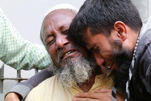 Schon wieder sind in einer Fabrik in Bangladesch zahlreiche Menschen gestorben. AFP