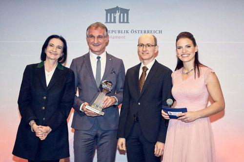 SDG-Award für die Stadt Bregenz. Werner Streitfelder