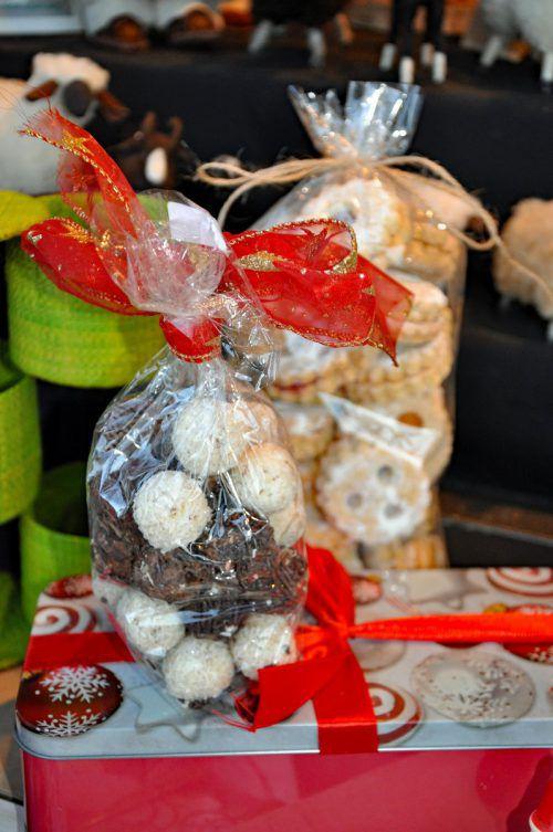 Sehr beliebt sind die hausgemachten Weihnachtskekse.