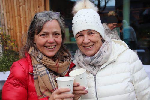 Silvia Lässer und Ida Gmeiner.
