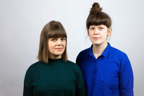 Silvia Stocker und Marie Nemeth leiten das Produktdesign-Labor beim Poolbar-Generator. Yavuz Odabas