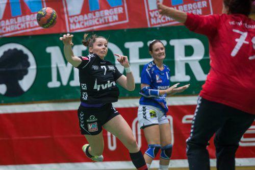 Sophia Ölz und der SSV Schoren haben gegen Eggenburg zwei Punkte im Visier. PS