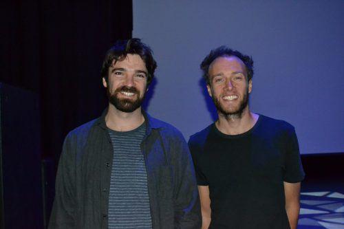 Stefan Ager und Andreas Gumpy Gumpenberger waren während der Präsentation anwesend und beantworteten Fragen der Besucher. BI