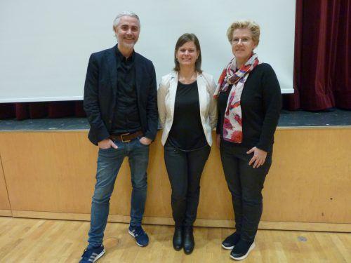 Stefan Hagen, Bgm. Annette Sohler und Kriemhild Büchel-Kapeller führten durch den Abend. mo