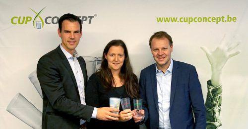 Stijn De Meulemeester, Gwendoline Hoornaert und Gerhard Bertsch. FA