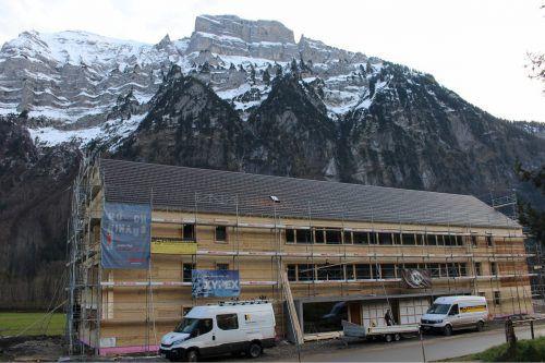 Termingerecht kam die Wohnanlage in Schnepfau-Hirschau unter Dach.
