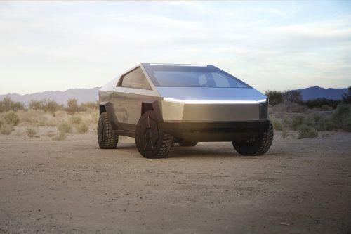 """Der futuristische Tesla """"Cybertruck"""" wird bereits nächstes Jahr zum Verkauf stehen."""