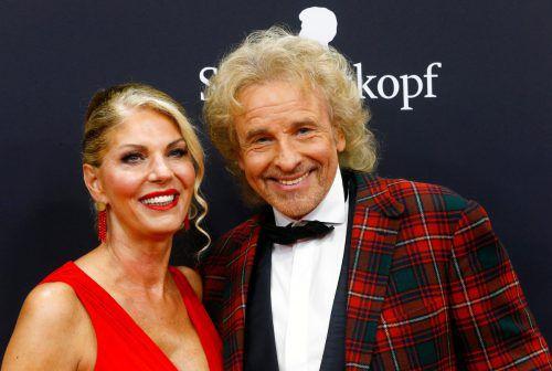 2019 stellte der Entertainer Karina Mroß als seine neue Freundin vor. Reuters