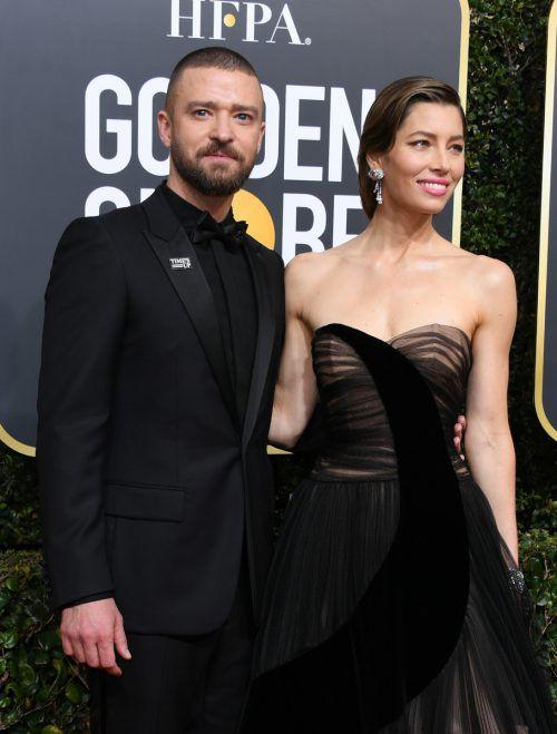 Timberlake ist seit 2007 mit Jessica Biel liiert und seit 2012 verheiratet. AFP