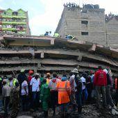 Hochhaus in Nairobi eingestürzt