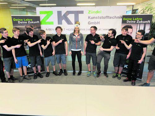 Unterstützung für Elisabeth Kappaurer kommt vom Bizauer Unternehmen ZKT.ko