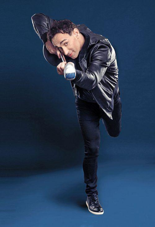 """VN-Abonnenten besuchen das Soloprogramm """"Herkulis"""" von Comedian Gernot Kulis am Mittwoch, 22. Jänner 2020, im Kulturhaus Dornbirn zum Sonderpreis.manfred baumann"""