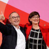 Die große Koalition auf wackeligen Beinen