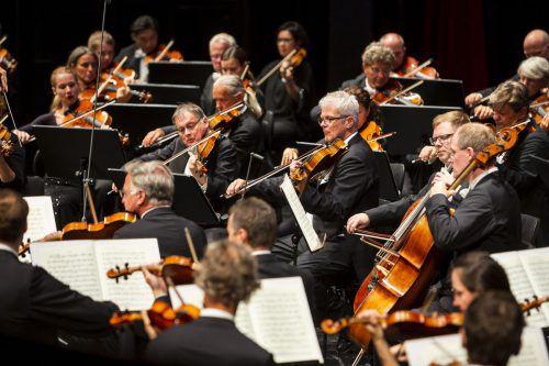 Wiener Symphoniker beim letzten Konzert der diesjährigen Saison. BF/Mathis