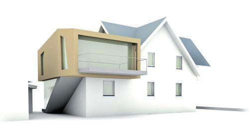 Zubau Wer das Elternhaus aufstocken oder einen Zubau errichten möchte, sollte dieses Vorhaben gut vorbereiten.Bild: peter berger_pixelio.de