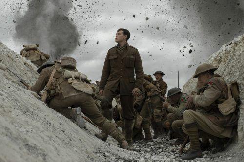 """""""1917"""" ist ein bildgewaltiges Epos, das sein Publikum mit Monumentalität beinahe überrollt. ap"""