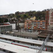 Bahnhof-City wächst rasant in die Höhe