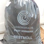 Stadt Dornbirn gibt Müllsäcke aus