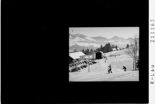 Abfahrt bis zur Talstation in Alberschwende.