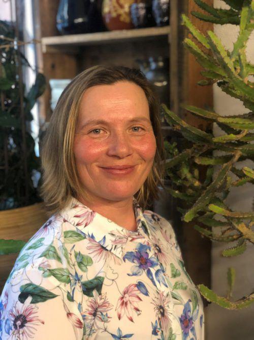 """Agathe Egger ist der """"grüne Daumen"""" der Marktgemeinde Frastanz. VN/Schweigkofler"""