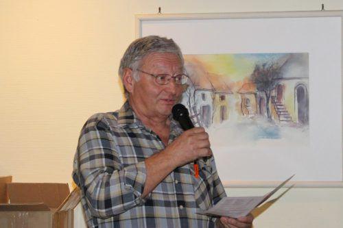 Alfred Tiefenthaler gab einen Ausblick auf die bevorstehenden Aktivitäten.