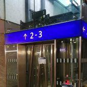Aufzüge halten die ÖBB-Feuerwehr auf Trab
