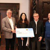 Spende für Hilfswerk Feldkirch