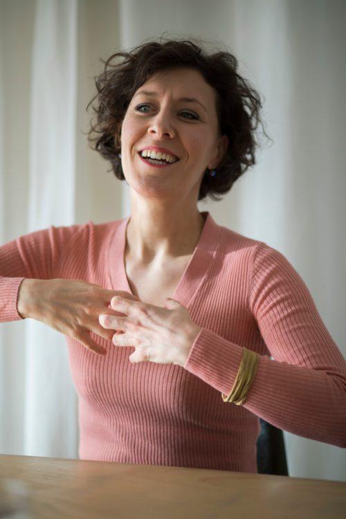 """Annelie Sophie Müller: """"Ich möchte, dass die Zuschauer ergriffen sind und alles spüren können."""" VN/Paulitsch"""